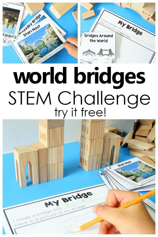 World-Bridges-STEM-Challenge-Set-Fun-STEM-activity-for-preschool-and-kindergarten.-Use-in-block-center-STEM-area-or-as-a-group-challenge-preschool-kindergarten-STEM-freeprintable