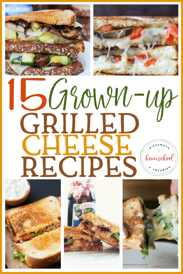 "A simple grilled cheese doesn't always fill me up any more. So when I heard about these ""grown-up"" grilled cheese sandwiches, I was intrigued. I have always loved a good sandwich, but these are seriously creative! #sandwich #grilledcheese #parents #moms"