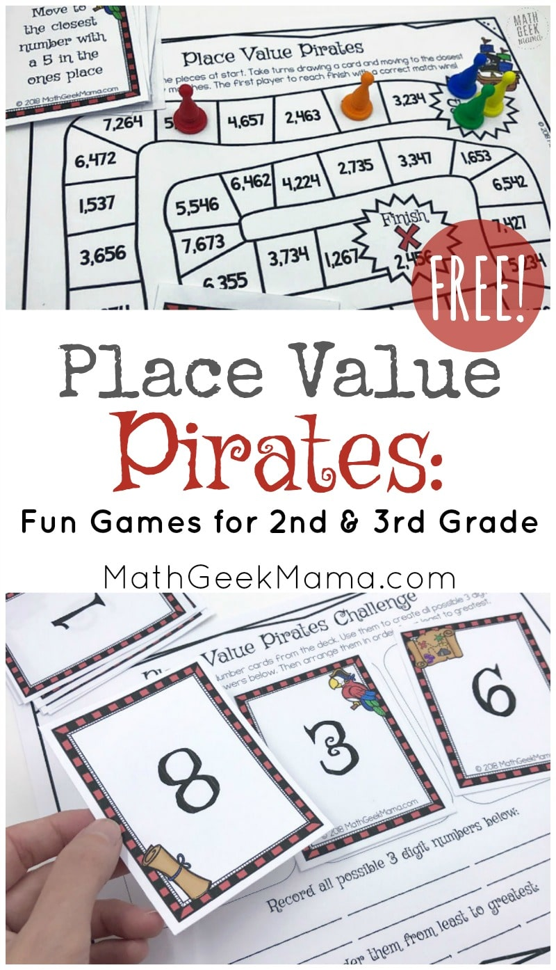 It is an image of Comprehensive Place Value Games Printable