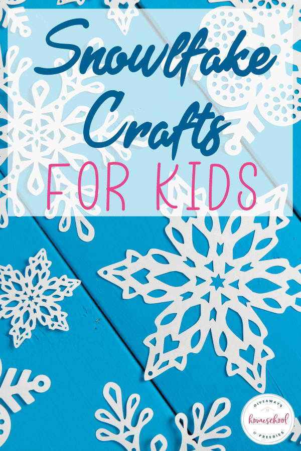 If you are looking to celebrate the magic of winter without turning to holiday crafts, then snowflake crafts are sure to do the trick! These crafts are great for days when it's too cold to go outside or to incorporate into a fun homeschool science lesson. #snowflakes #crafts #kids #winter