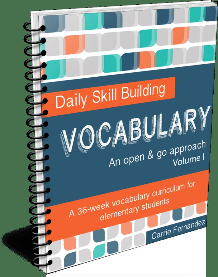 Daily Skill Building: Vocabulary Volume I (Third – Fourth Grade)