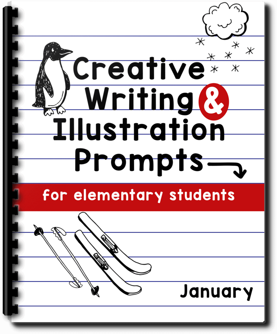 FREE Creative Writing & Illustration Prompts for January