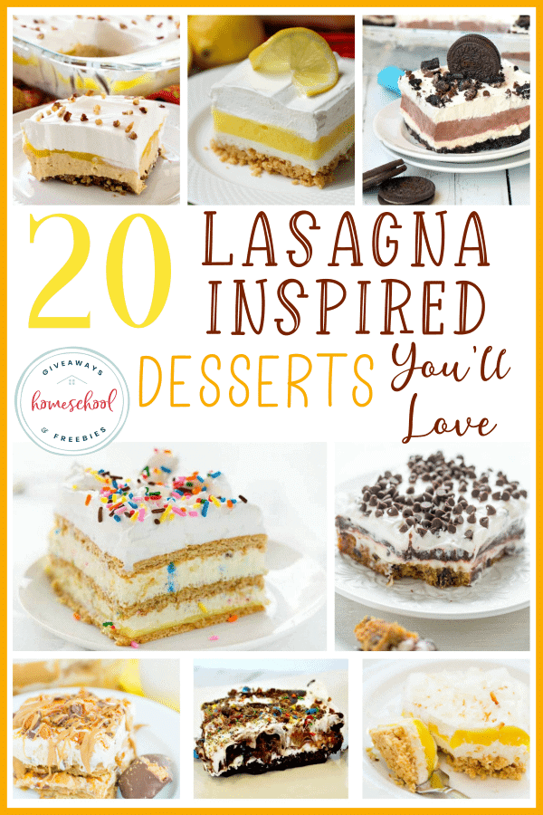 If you love simple, yet delicious desserts, give these Lasagna Inspired treats a try! You'll love the blends of sweet/sour and crunchy crusts! #dessert #desserts #sweet #sweettooth