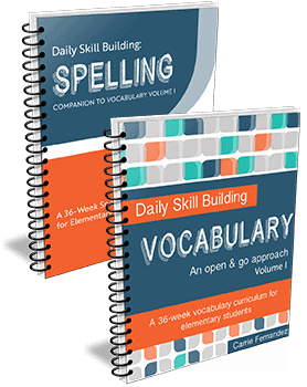 spelling-vocab-menu
