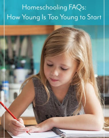 How Young Is Too Young to Start Homeschooling?