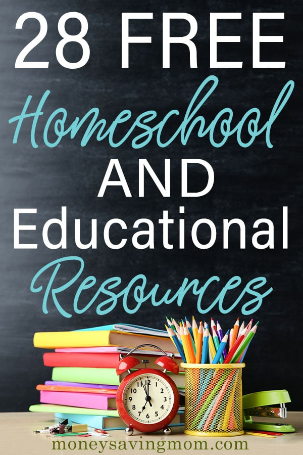 Check out this HUGE list of FREE homeschool curriculum!