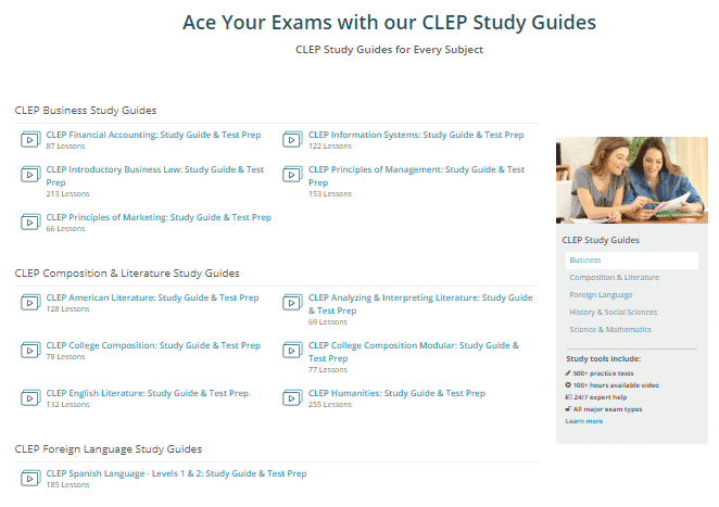A U  S  Veteran's Review of Study com's DSST and CLEP