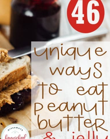 Peanut Butter and Jelly doesn't have be boring! Celebrate National PB&J Day (April 2nd) with some of these unique recipes. #peanutbutterjelly #pbjday #recipes #hsgiveaways