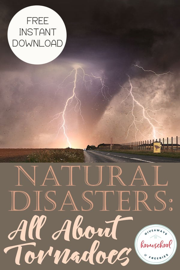Free Tornadoes Educational Freebie