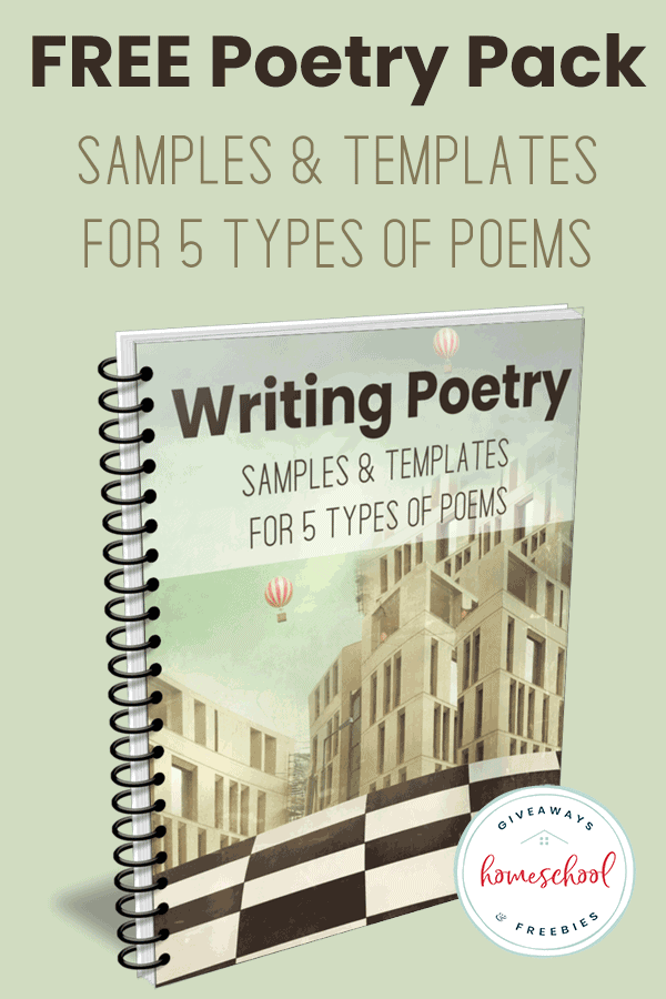 How to Teach Poetry in Your Homeschool (FREE Printable) - Homeschool