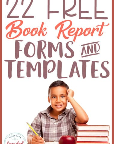 Book reports don't have to be boring! Using fun templates and forms to help them get started or as an alternative to the traditional report is a great way to mix things up! #bookreport #templates #reading #hsgiveaways