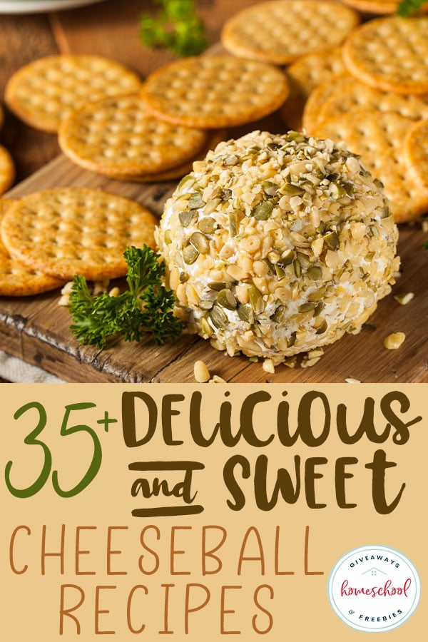 National Cheeseball Day is April 17th, which is a great excuse to make a delicious treat! Check out these savory or sweet recipes to make and celebrate the day! #recipes #cheeseball #hsgiveaways