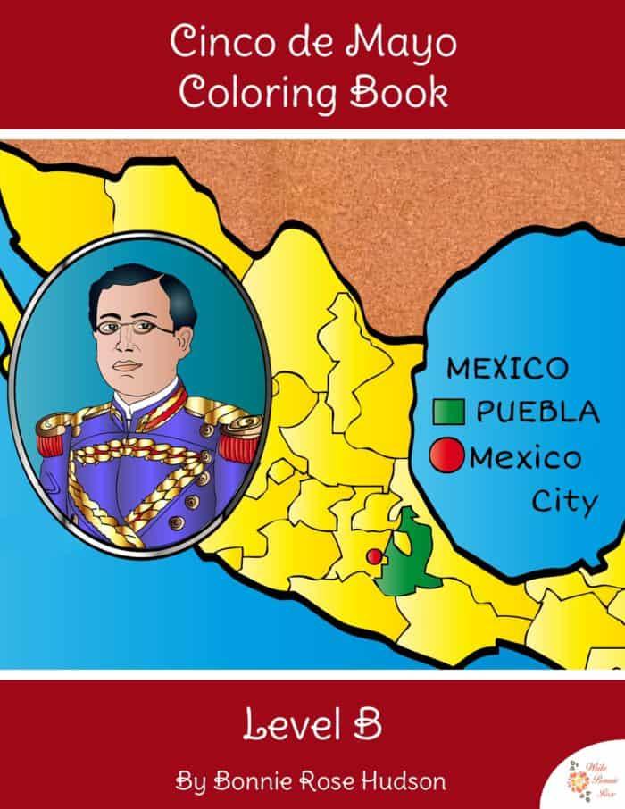 Cinco-de-Mayo-Colorir-Livro-Nível-B