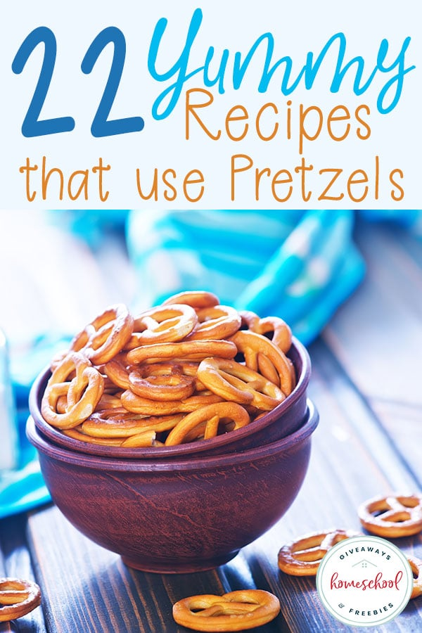 April 26th is National Pretzel Day. You probably didn't know such a day existed, but since it does...you might as well plan accordingly, right? Try some of these yummy recipes to celebrate! #pretzels #pretzel #recipes #hsgiveaways