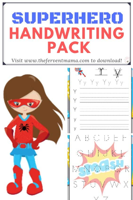 image about Superhero Letters Printable named No cost Printable Superhero Alphabet Coach - Homeschool