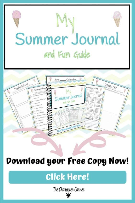 picture regarding Printable Journals titled Totally free Printable Summer season Enjoyment Specialist and Magazine - Homeschool
