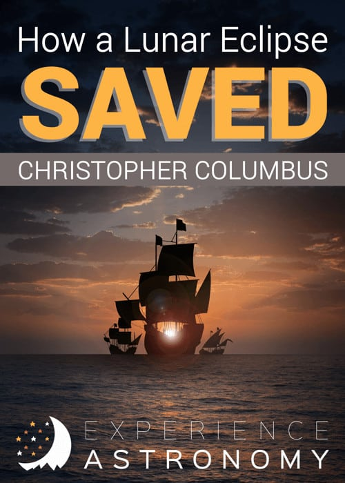 ship sailing with overlay - How a Lunar Eclipse Saved Christopher Columbus