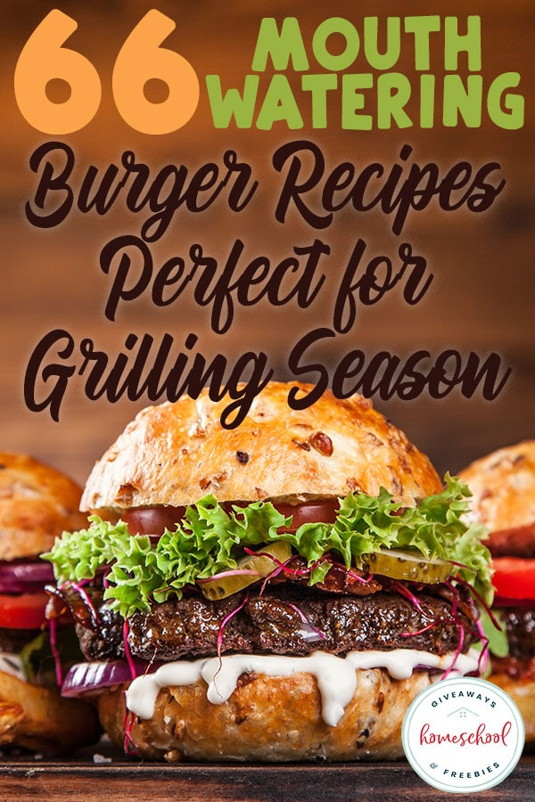 Grilling season is in full swing! If you're looking to switch up your same old burgers this grilling season, these unique burger recipes will be the talk of your gatherings! #recipes #burgers #grilling #hsgiveaways