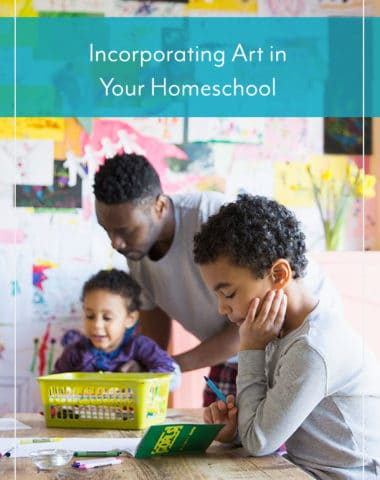 Incorporating Art in Your Homeschool