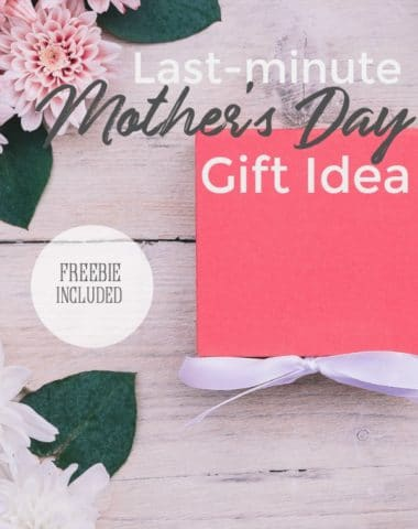 Do you need a quick idea for Mother's Day that will still show the recipient how much they're loved?  Then creating a Memory Jar is the perfect last minute gift.