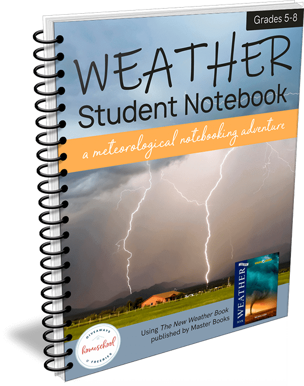 Weather Student Notebook – A Meteorological Notebooking Adventure
