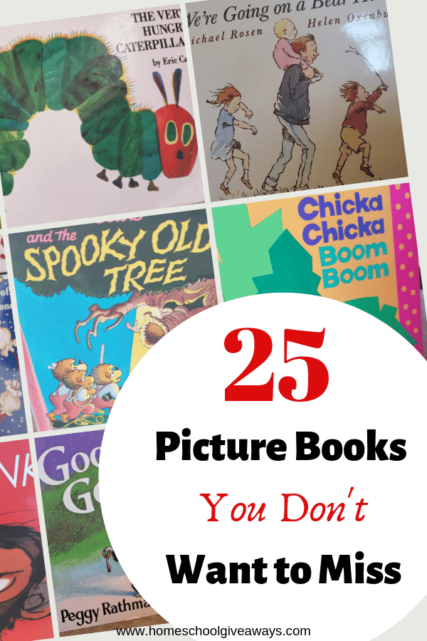 Don't miss reading these awesome picture books to your little ones. #homeschool #preschool #booklist