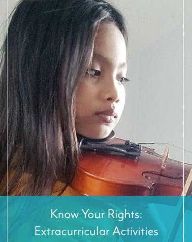 Know Your Rights: Extracurricular Activities