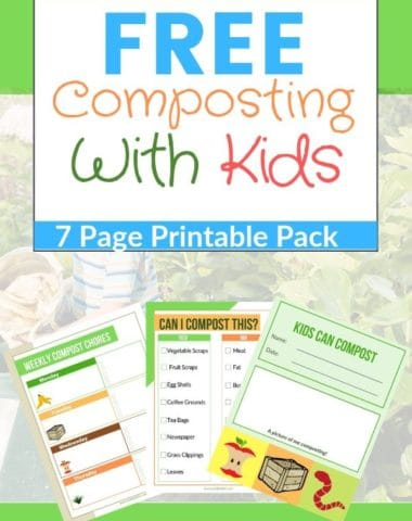 Composting With Kids Printable Pack