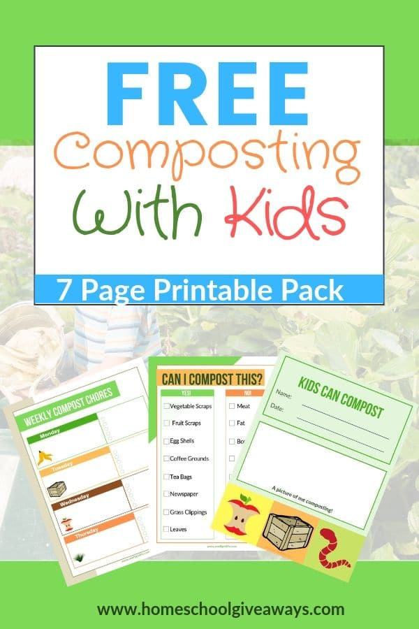 Composting With Kids Printable Pack