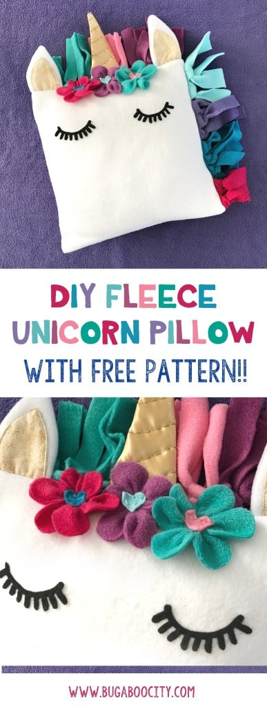 image regarding Free Printable Fleece Sock Pattern called Totally free Routine for a Do it yourself Fleece Unicorn Pillow - Homeschool
