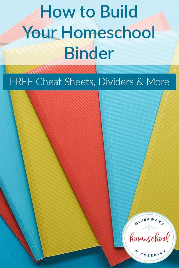 How to Build Your Homeschool Binder