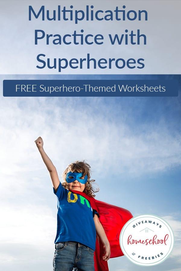 Multiplication Practice-Superheroes