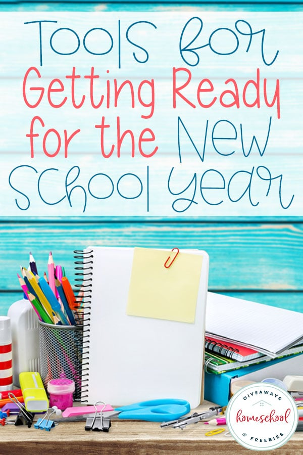 Check out all these great tools to help you get ready for the new school year. #homeschoolgiveaways #homeschooltools