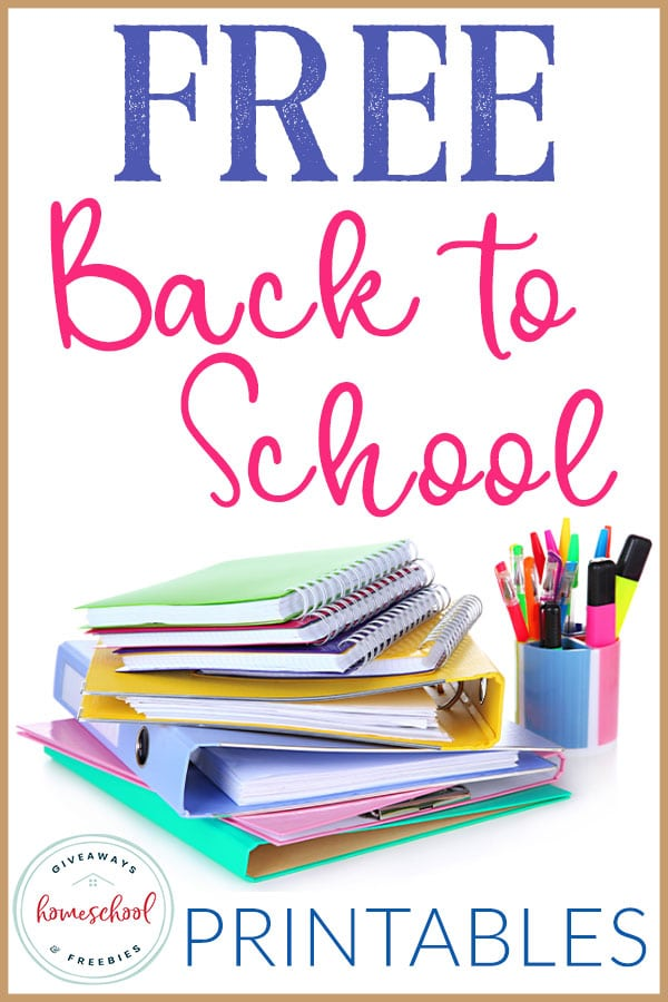If you are starting school back soon, you are going to love these FREE printables to make your day special. #notbacktoschool #newhomeschoolyear