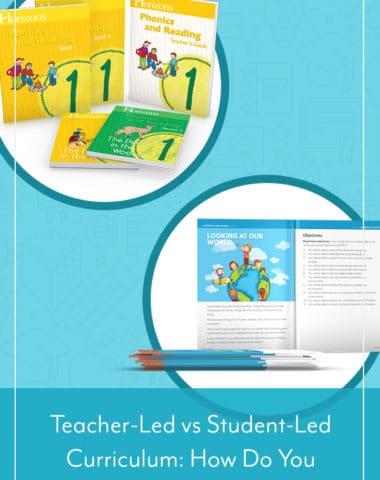 Teacher-Led vs Student-Led Curriculum