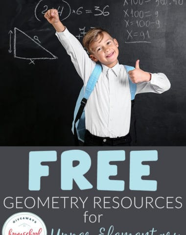 FREE Geometry resources for upper elementary students #geometryresources