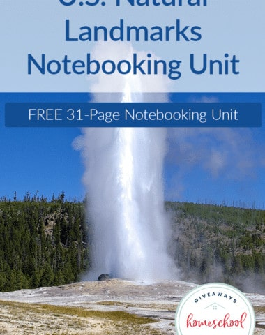 US-Natural-Landmarks-Notebooking