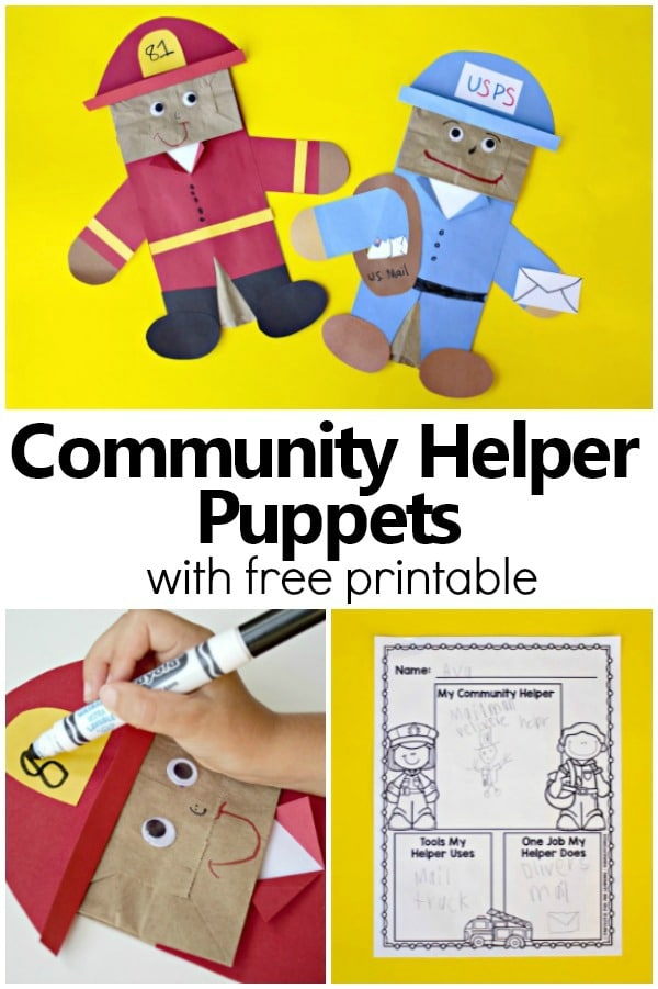 Essay-our community helpers