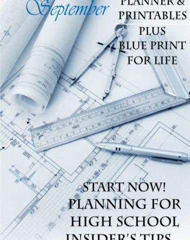 FREE High School Planning Printables