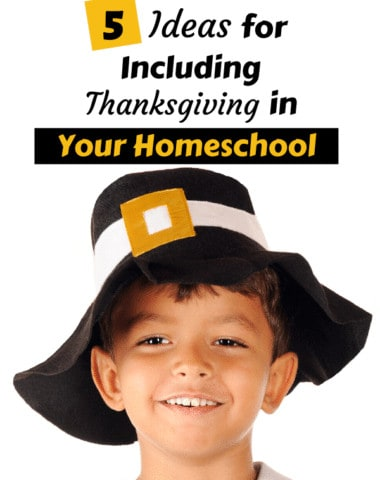 Take advantage of the rich history surrounding Thanksgiving and this season of gratitude in your homeschool. #history #Thanksgiving #Homeschool #gratitude