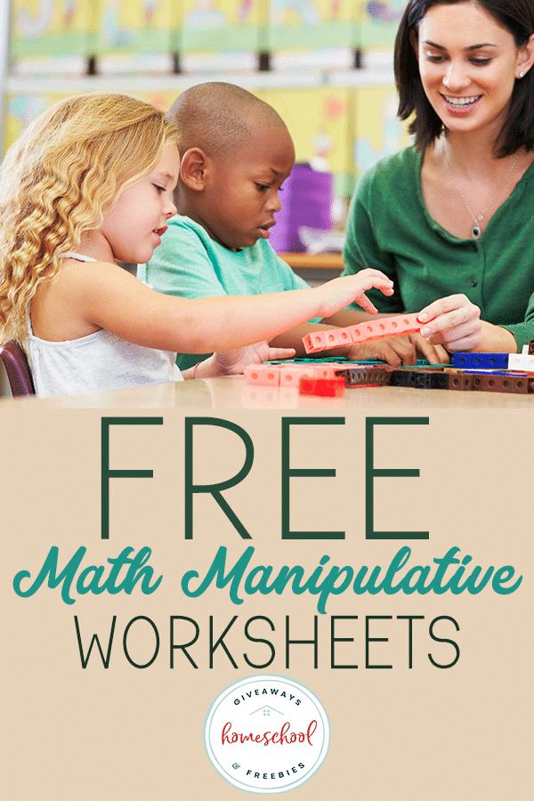 kids playing with math manipulatives