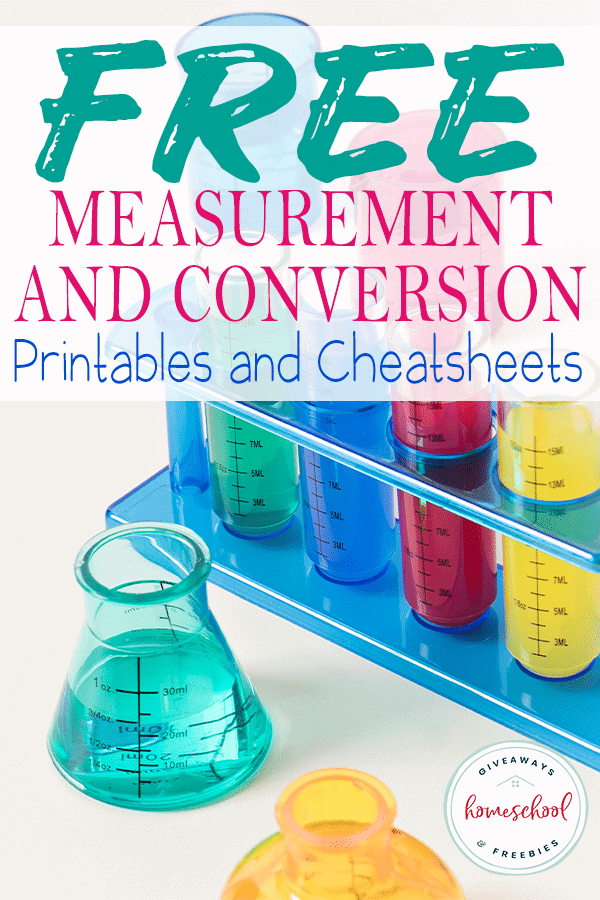 FREE Measurement and Conversion Printables and Cheatsheets #mathcheatsheets