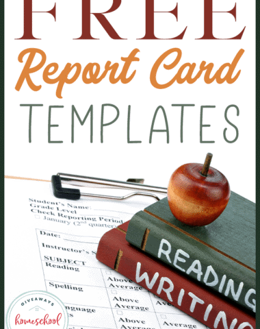 FREE Report Card Templates