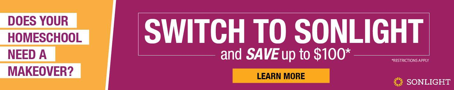 Switch to Sonlight and Save!