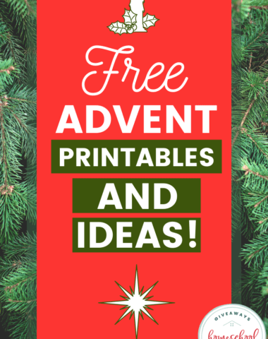 Free Advent Printables and Ideas