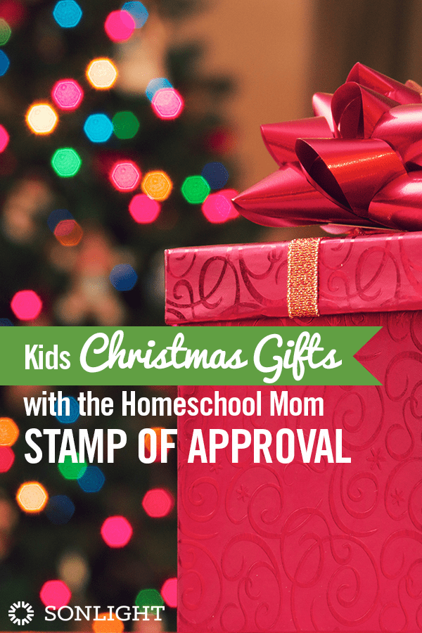 Kids Christmas Gifts with the Homeschool Mom Stamp of Approval