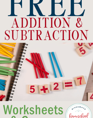 addition practice on notebook page