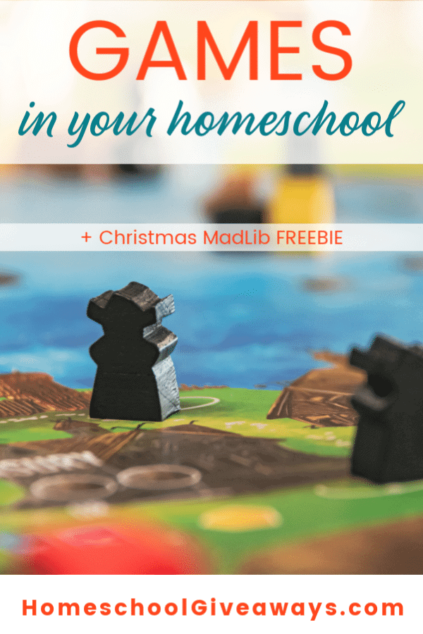 Should you incorporate more games into your homeschool? Here are the reasons why they're good for the brain & some ideas for you. Plus a MadLib FREEBIE!