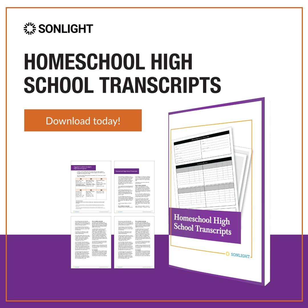 high school transcripts