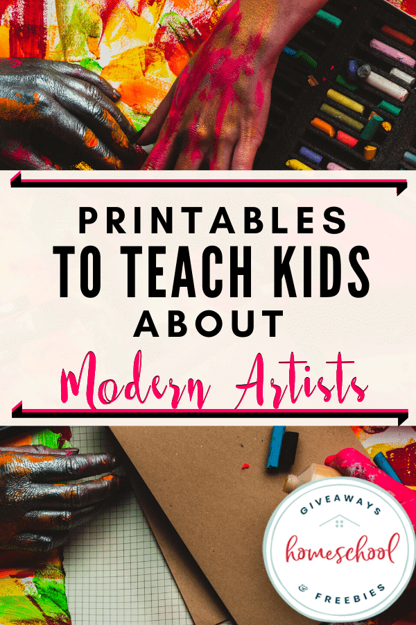 Free Modern Artists Homeschool Curriculum